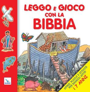 Leggo e gioco con la Bibbia. Storie, puzzle e attività per ragazzi sotto i 7 anni - Su Box - copertina