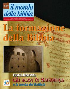 Il mondo della Bibbia (2011). Vol. 2: La formazione della Bibbia. - copertina