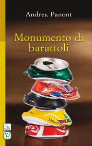 Monumento di barattoli - Andrea Panont - copertina