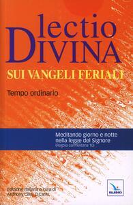 Lectio divina sui Vangeli feriali. Tempo ordinario - copertina