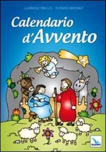 Calendario d'Avvento. Con poster a finestre numerate. Con adesivi - Gabriele Mecca,Tommy Reinero - copertina