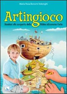 Premioquesti.it Artingioco. Bambini alla scoperta della Bibbia attraverso l'arte Image