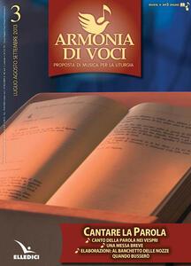 Armonia di voci (2013). Vol. 3