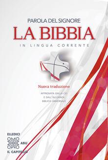 Parola del Signore. La Bibbia in lingua corrente - copertina