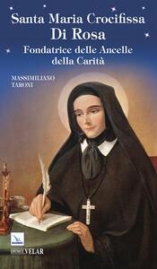 Santa Maria Crocifissa di Rosa - Massimiliano Taroni - copertina