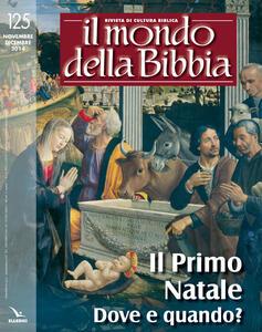 Il mondo della Bibbia (2015). Vol. 1 - copertina