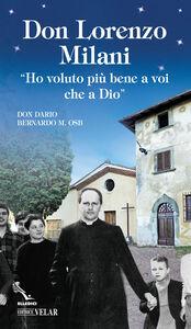 Libro Don Lorenzo Milani Dario Bernardo