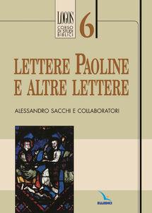 Libro Lettere paoline e altre lettere Alessandro Sacchi