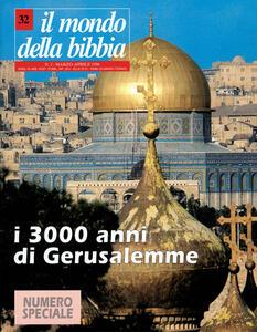 Il mondo della Bibbia (2000). Vol. 32: Gerusalemme. - copertina