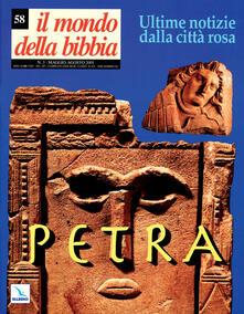 Il mondo della Bibbia (2001). Vol. 58: Petra.