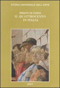 Foto Cover di Le civiltà dell'Occidente. Il Quattrocento in Italia, Libro di Renato De Fusco, edito da UTET