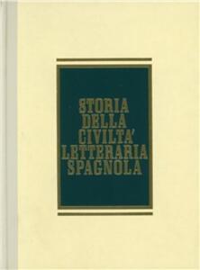 Storia della civiltà letteraria spagnola - copertina