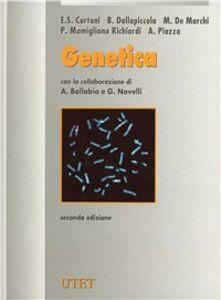Foto Cover di Genetica, Libro di Emilio S. Curtoni, edito da Utet Scienze Mediche