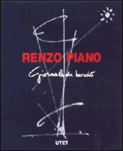 Giornale di bordo - Renzo Piano - copertina