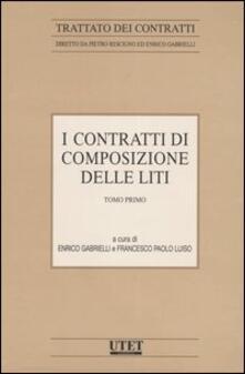 I contratti di composizione delle liti. Vol. 4