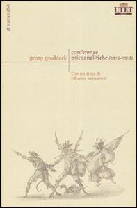 Libro Conferenze psicoanalitiche (1916-1917) Georg Groddeck