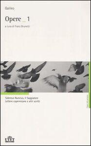 Libro Opere Galileo Galilei
