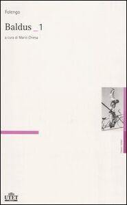 Foto Cover di Baldus vol. 1-2. Testo latino a fronte, Libro di Teofilo Folengo, edito da UTET