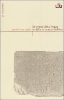 Promoartpalermo.it Le origini della lingua e della letteratura italiana Image