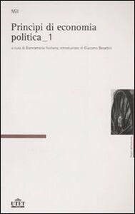 Libro Principi di economia politica John Stuart Mill