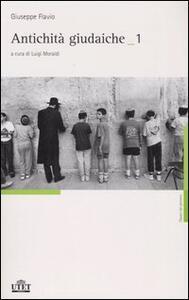 Antichità giudaiche. Ediz. integrale. Vol. 1