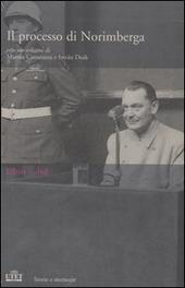 Copertina  Il processo di Norimberga [Cofanetto] : libro + DVD