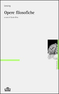 Libro Opere filosofiche Gotthold Ephraim Lessing