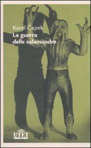 Libro La guerra delle salamandre Karel Capek