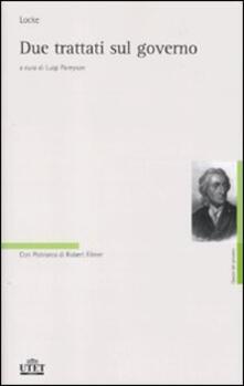 Due trattati sul governo - John Locke - copertina