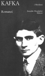 Libro Romanzi Franz Kafka