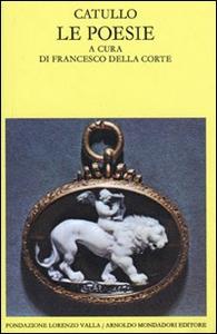 Libro Poesie G. Valerio Catullo
