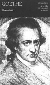Libro Romanzi J. Wolfgang Goethe