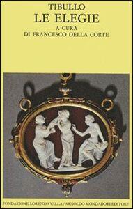 Libro Le elegie Albio Tibullo