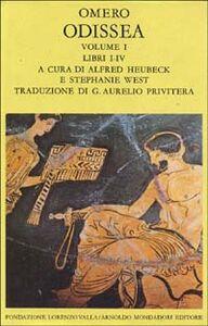 Libro Odissea. Vol. 1: Libri I-IV. Omero