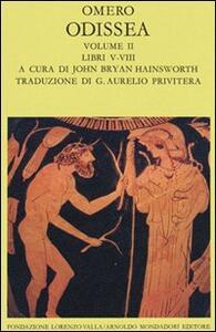 Odissea. Vol. 2: Libri V-VIII.