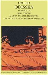 Odissea. Vol. 4: Libri XIII-XVI.