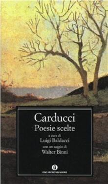 Poesie scelte - Giosuè Carducci - copertina