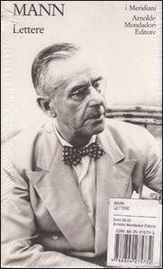 Libro Lettere Thomas Mann