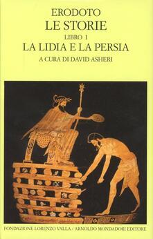 Lpgcsostenible.es Le storie. Testo greco a fronte. Vol. 1: Libro 1°: La Lidia e la Persia. Image