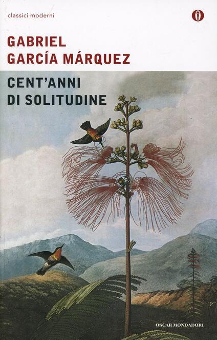 Cent'anni di solitudine - Gabriel García Márquez - copertina