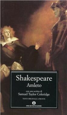 Amleto - William Shakespeare - copertina