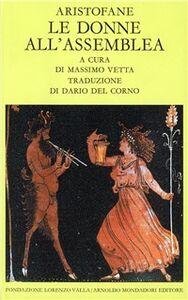 Libro Le donne all'assemblea Aristofane