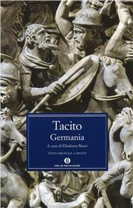 Libro Germania P. Cornelio Tacito