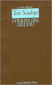 Libro I violini del diluvio Toti Scialoja