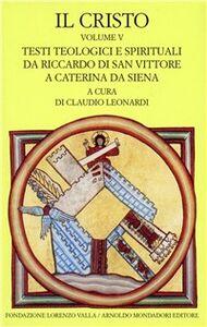 Libro Il Cristo. Vol. 5