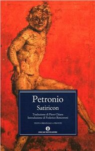 Libro Il satiricon Arbitro Petronio