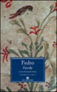 Foto Cover di Favole, Libro di Fedro, edito da Mondadori