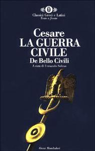 Libro La guerra civile-De bello civili G. Giulio Cesare