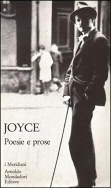 Poesie e prose - James Joyce - copertina