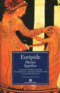 Foto Cover di Medea-Ippolito, Libro di Euripide, edito da Mondadori
